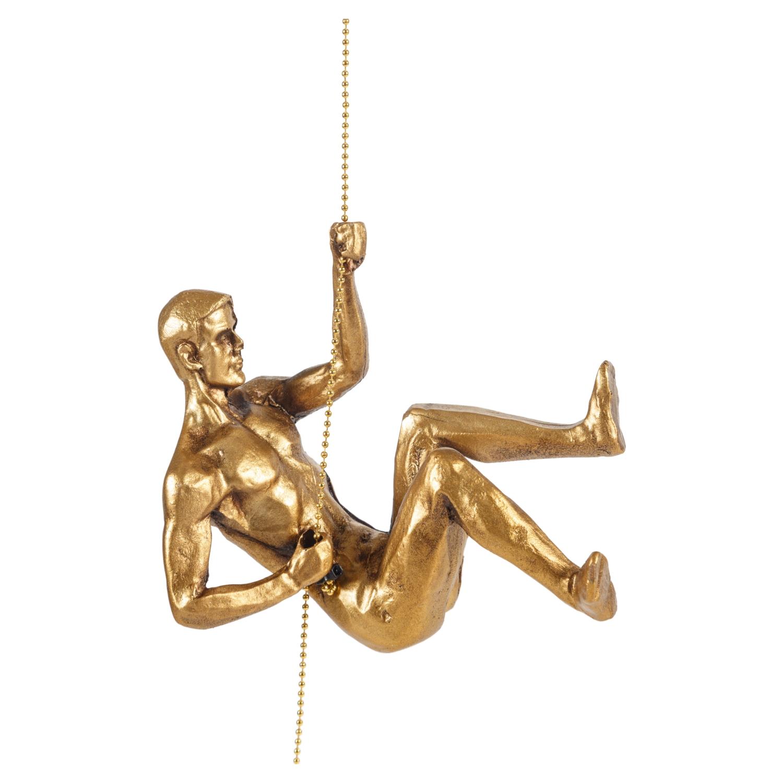 CLIMBING MAN I GOLD BİBLO 18X11CM