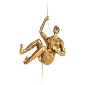 CLIMBING MAN II GOLD BİBLO 18X11CM