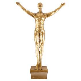 JUMPING MAN GOLD BİBLO 35X21CM