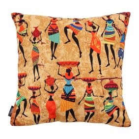 AFRICAN TRIBE KIRLENT 45X45CM