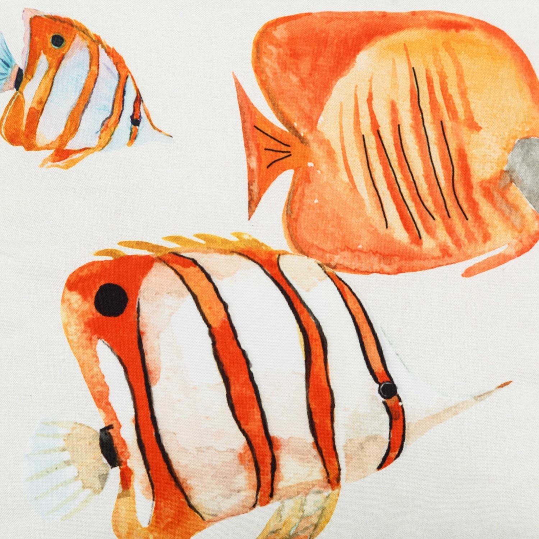 SEA FISH KIRLENT TURUNCU 40X40CM
