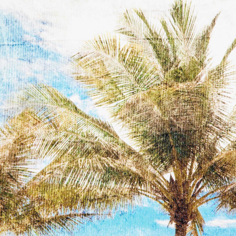 PALM TREES DOKULU KANVAS TABLO 60x90 CM