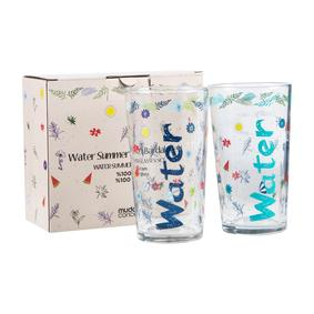 WATER BARDAK 570 ML 2'Lİ SET SUMMER EDITION