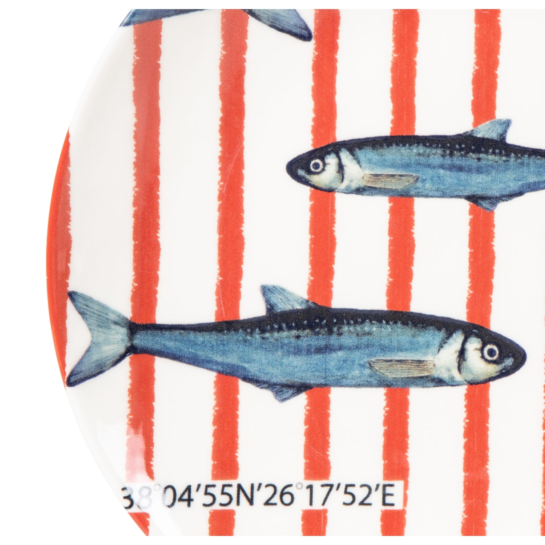 DEEP BLUE SERVİS TABAĞI 26CM FISH