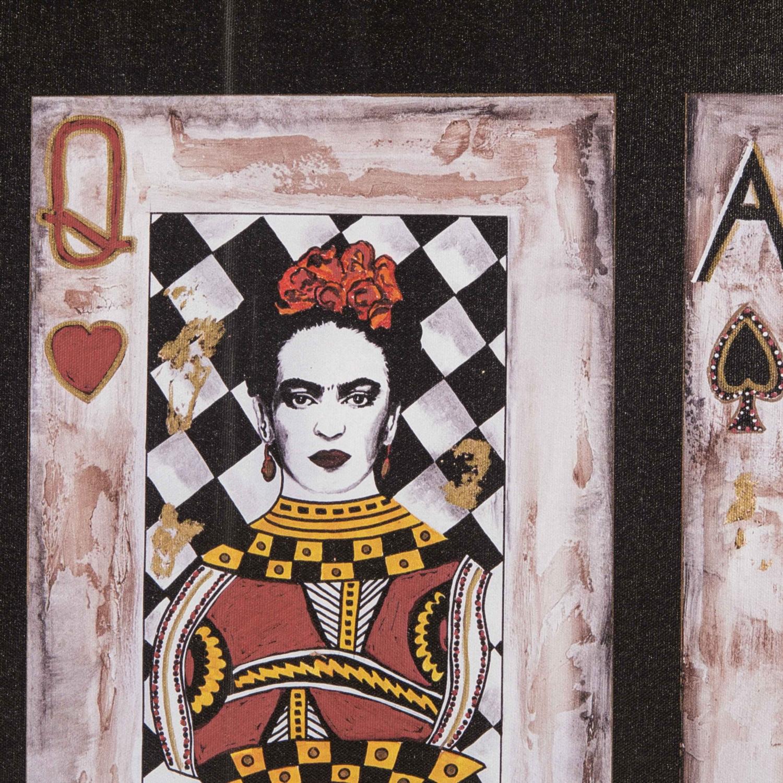 MULTIPLE CARDS YAĞLI BOYA TABLO 70X100 CM