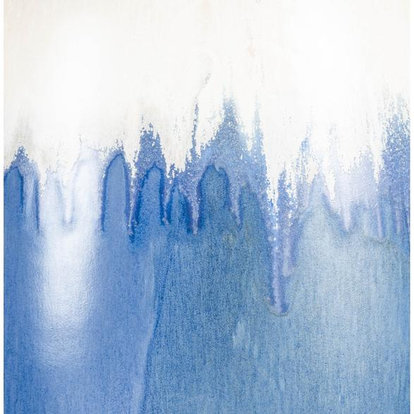 SHINY BLUE SERAMIK VAZO 18X18X41CM