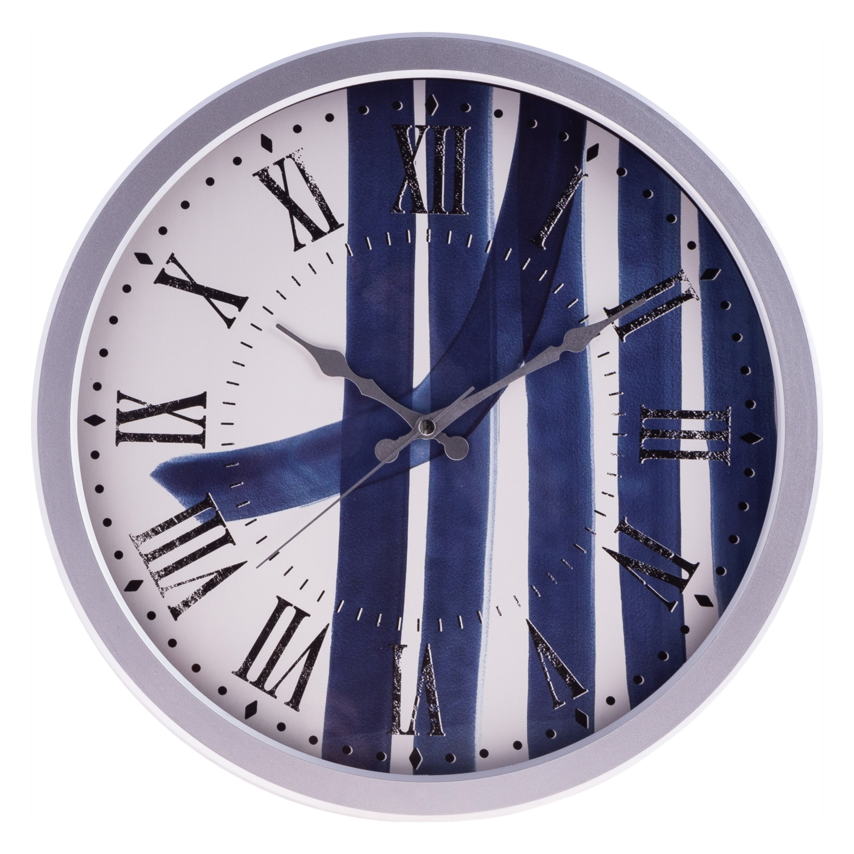 BLUE LINES DUVAR SAATİ 40 CM