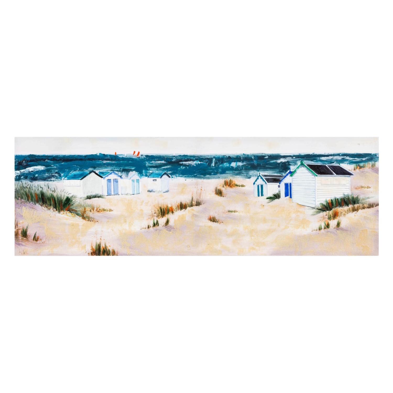 BEACH VIEW YAĞLIBOYA TABLO 50x150CM