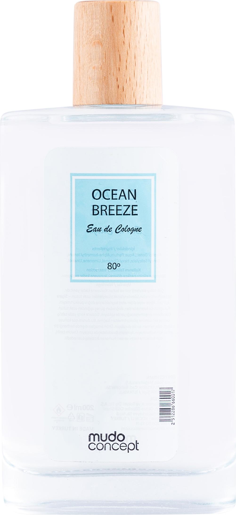MUDO CONCEPT KOLONYA OCEAN BREEZE 200 ML